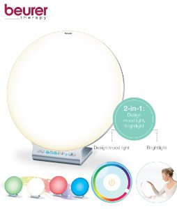 Lampe luminotherapie couleur