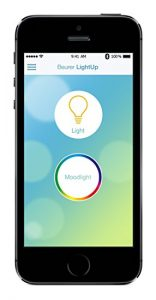 Application mobile lightup