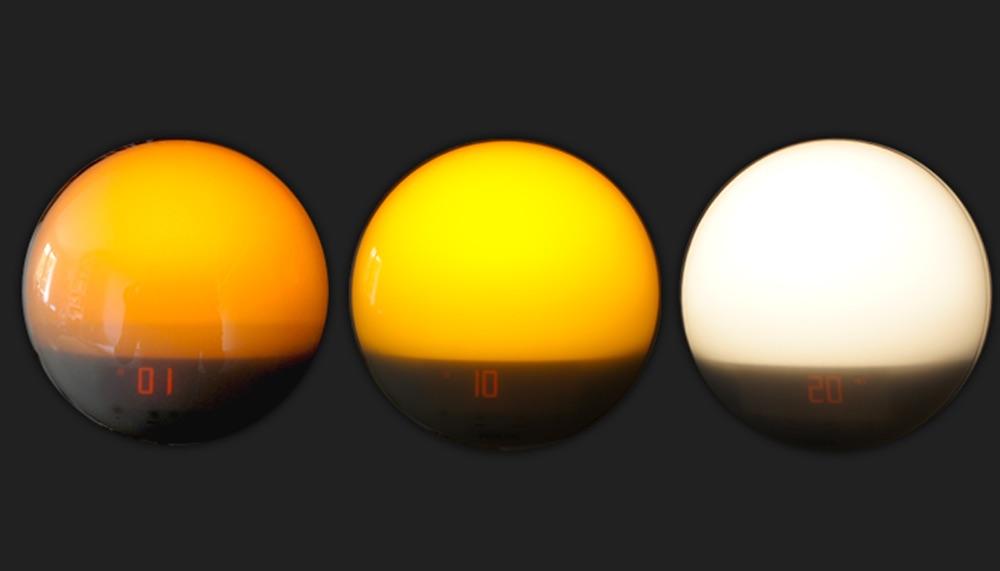 fonctionnement simulateur d'aube