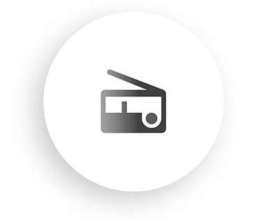 Radio réveil Philips hf3510