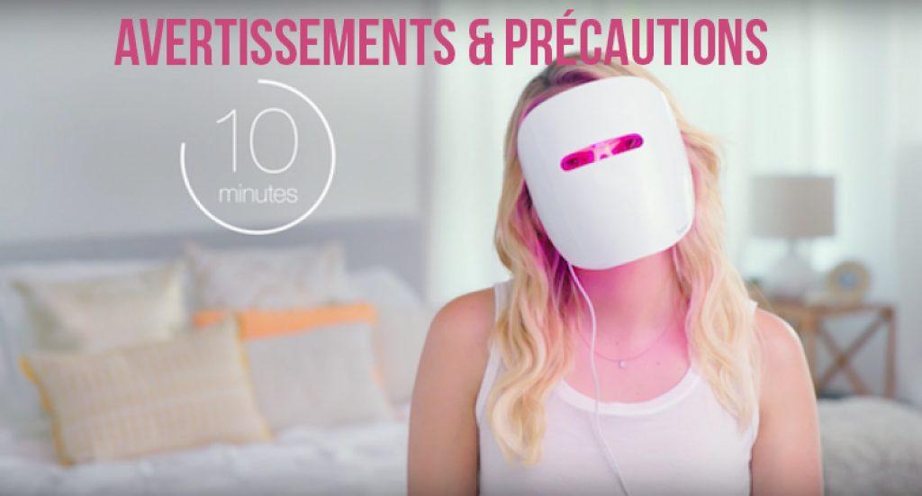 indication utilisation masque
