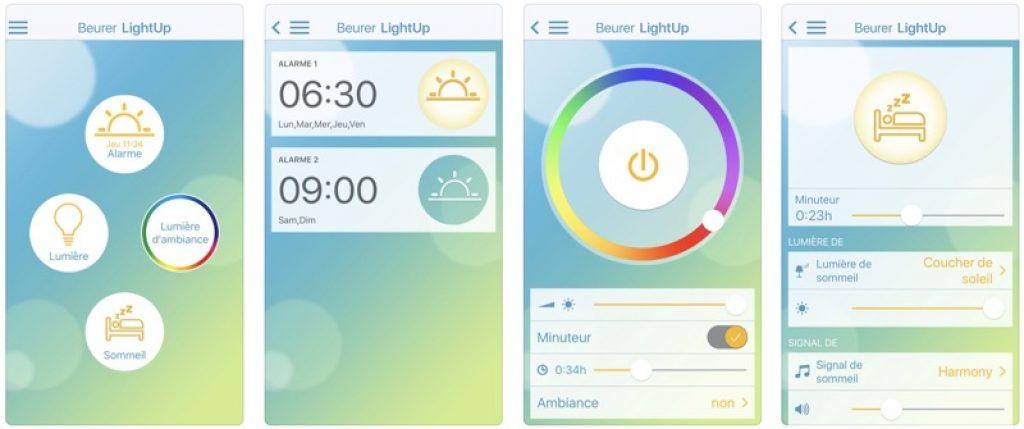 Beurer Light Up Application